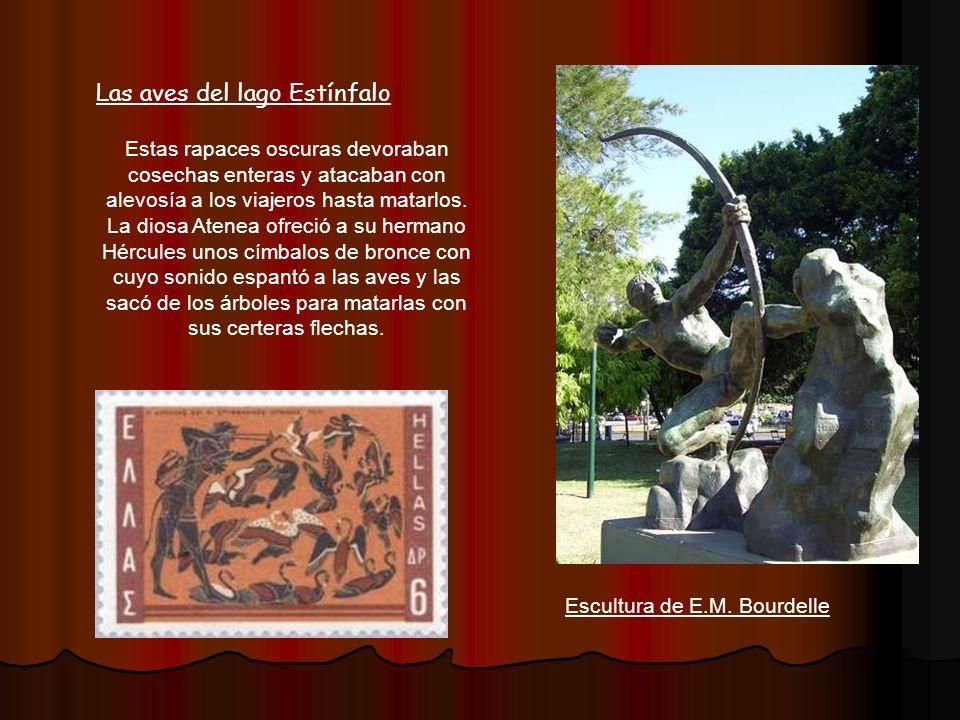 El león de Nemea Esta fiera fue engendrada por los monstruos Equidna y Ortro.