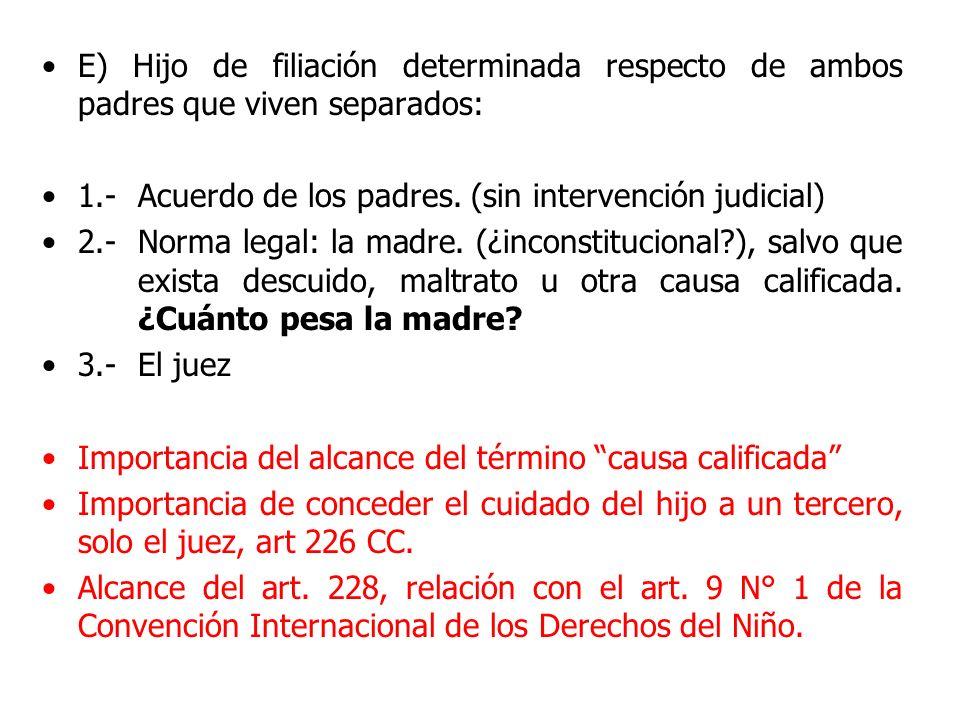 DERECHO – DEBER DE CRIANZA Y EDUCACIÓN Art.224: art.