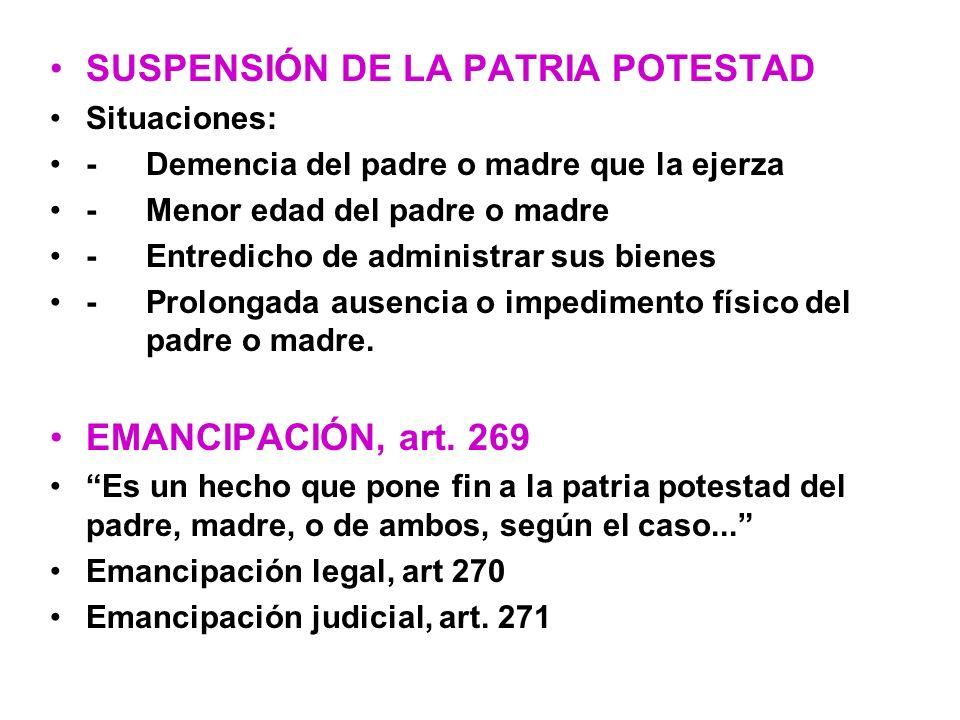 ASPECTOS SUSTANTIVOS DE LA LEY DE ADOPCIÓN Se derogan las leyes de adopción actualmente vigentes.