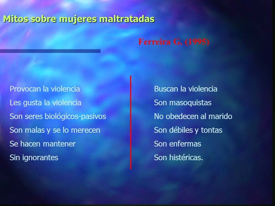 Los casos de violencia familiar son escasos: no representan un problema tan grave Corsi J. (1995) La violencia familiar es producto de algún tipo de e