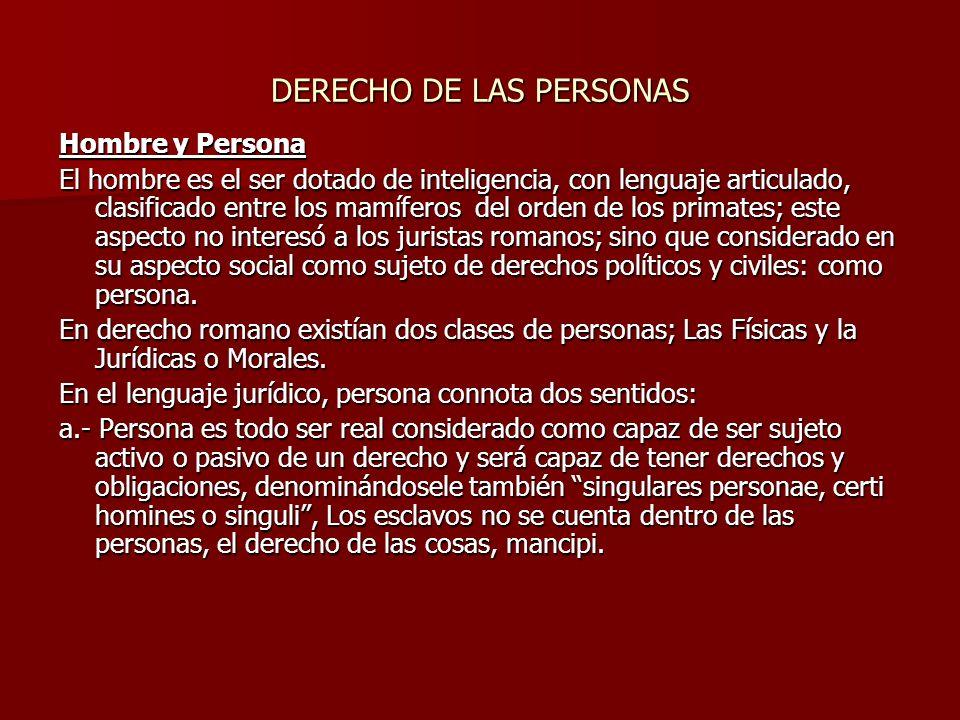 b.- Persona señala cierto papel que el individuo desempeña en sociedad, como padre de familia, comerciante, magistrado, etc.