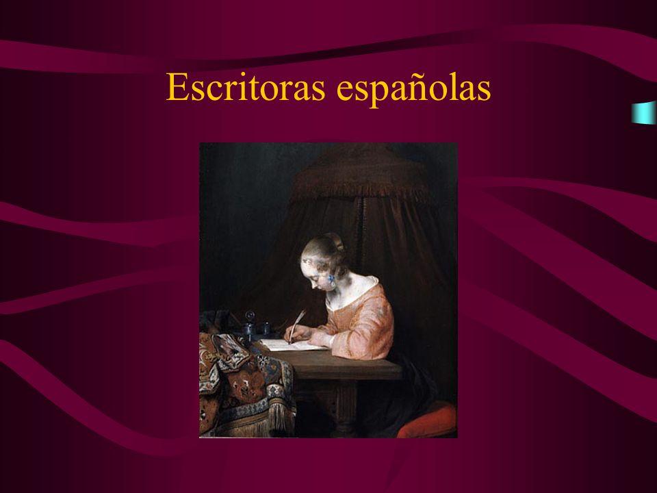 Escritoras españolas