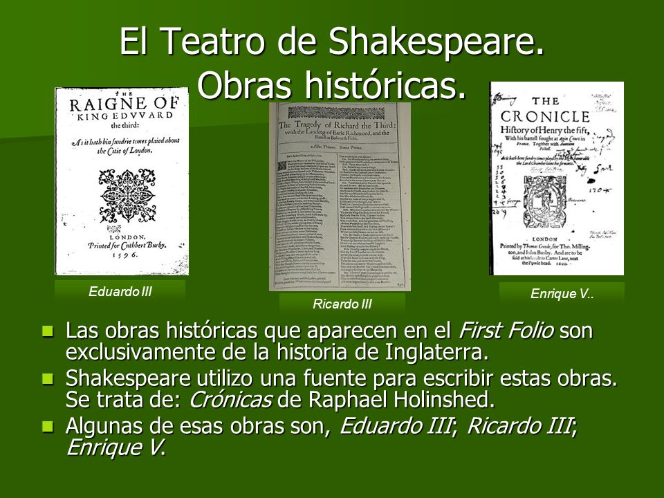 El Teatro de Shakespeare. Comedias. Primera página del libro, Los dos hidalgos de Verona. Portada de una adaptación del libro El sueño de una noche de