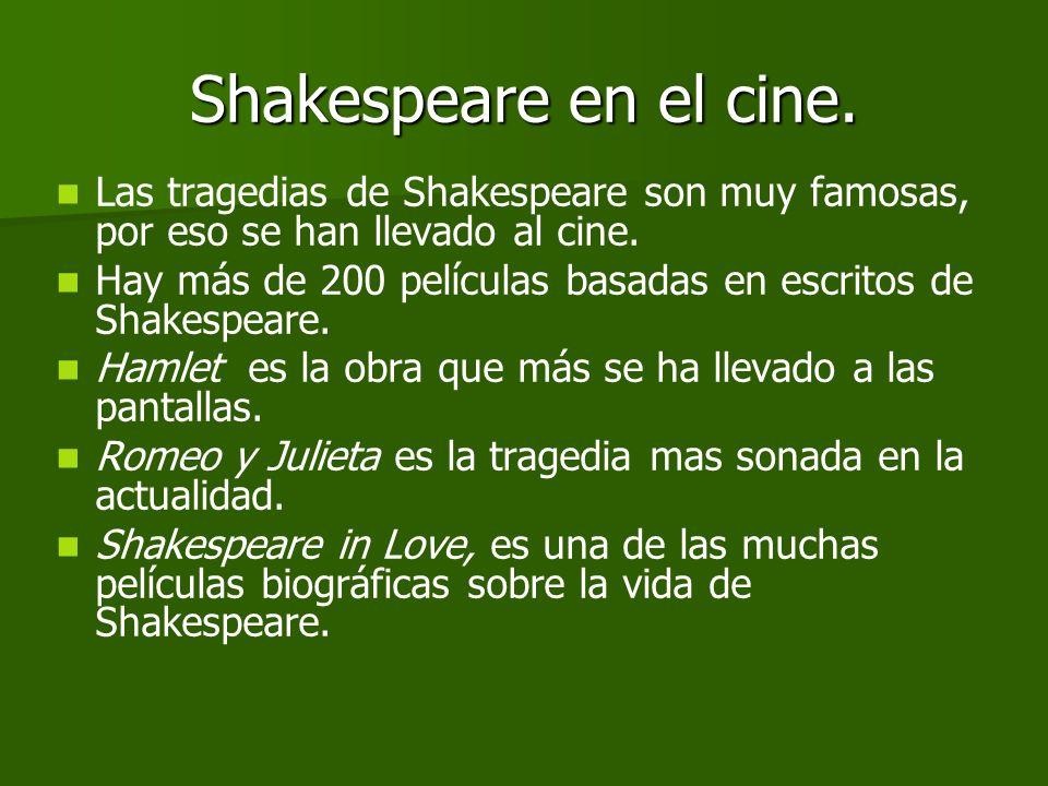 La poesía de Shakespeare. Shakespeare también escribió poesía. Shakespeare también escribió poesía. Él mismo se valoraba más como lírico que como dram