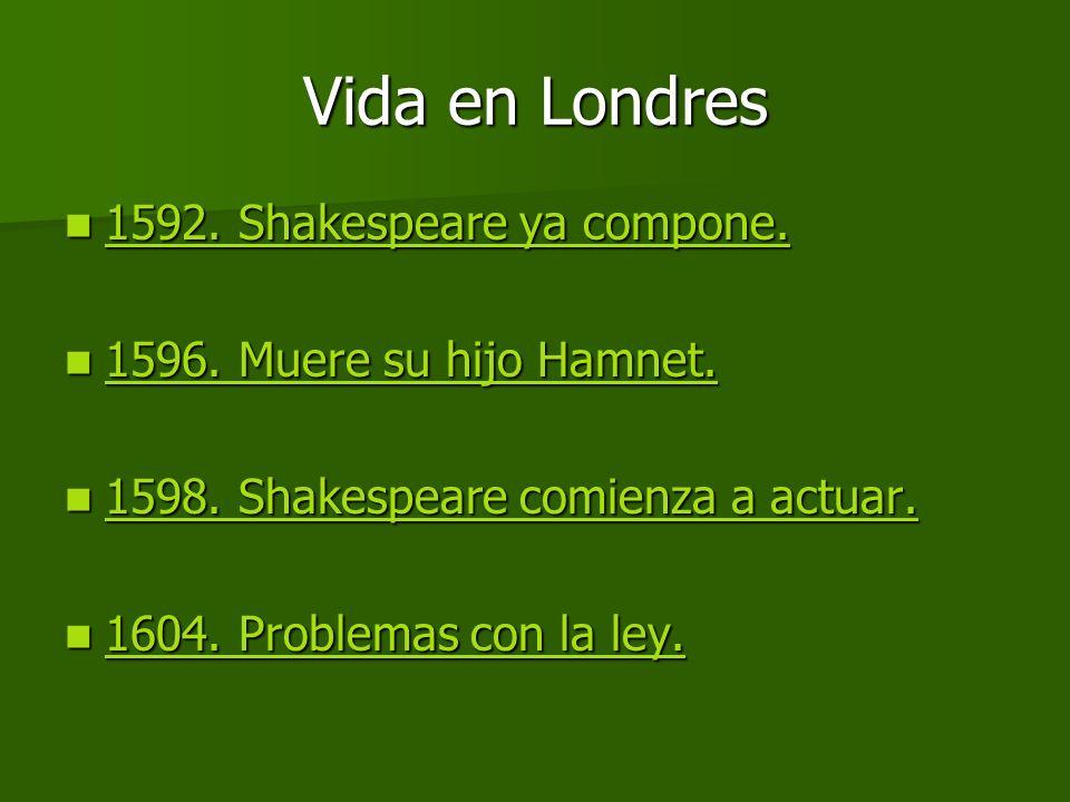 La poesía de Shakespeare.Shakespeare también escribió poesía.