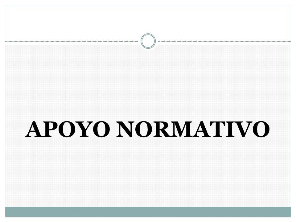 APOYO NORMATIVO