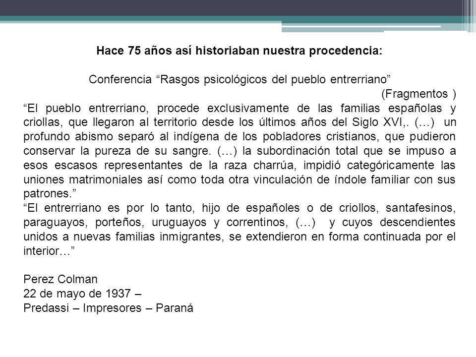 Familias mestizas de apellido español Algunos ejemplos Por razones de espacio solo se mencionan los cabeza de familia y en que documento consta la condición de mestizos.