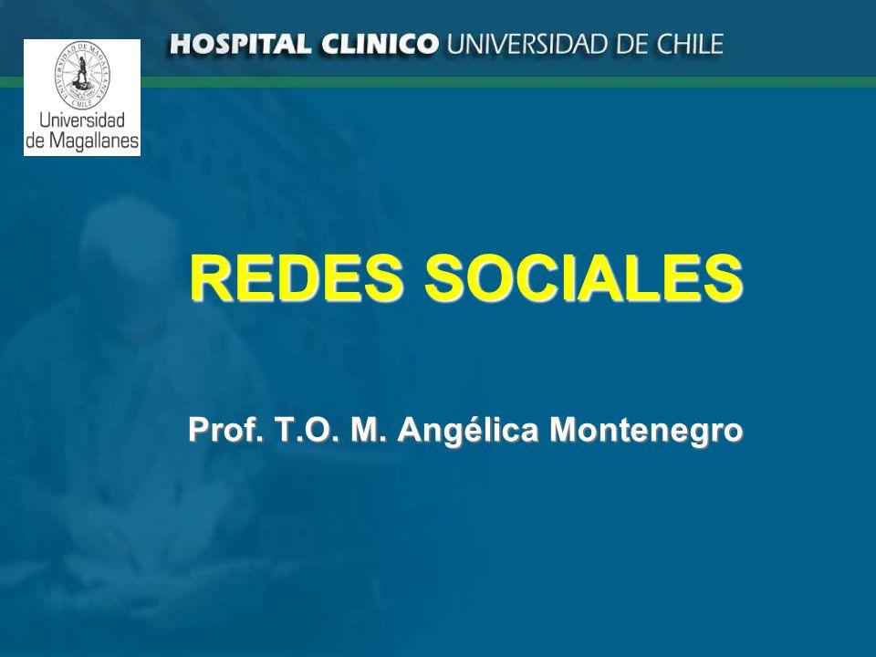 REDES SOCIALES Prof. T.O. M. Angélica Montenegro