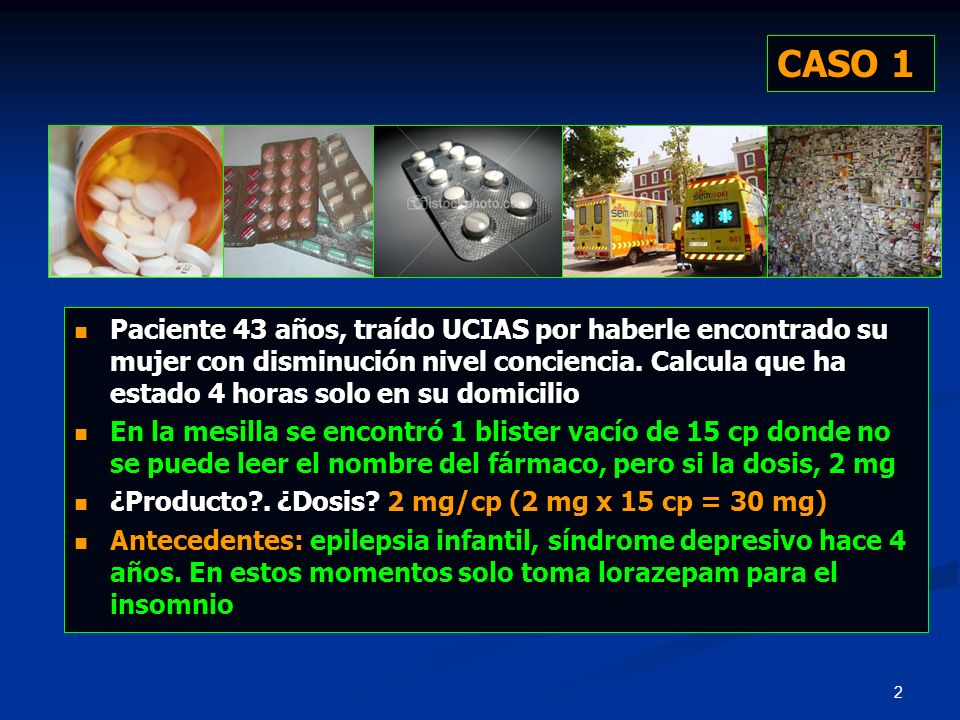 53 CASO 5 CONCENTRACIÓN MHBTOTAL DE MHB (%)*SÍNTOMAS ** < 1.5 g/dL < 10Ausencia 1.5-3.0 g/dL 10-20Cianosis > 3.0-4.5 g/dL > 20-30Ansiedad, mareo, cefalea, taquicardia > 4.5-7.5 g/dL > 30-50Fatiga, vértigo, confusión, taquipnea, taquicardia, síncope > 7.5-10-5 g/dL > 50-70Coma, convulsiones, arritmias y acidosis > 10.5 g/dL > 70Muerte * Se asume Hb = 15 g/dL.