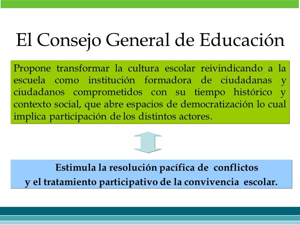 Propone transformar la cultura escolar reivindicando a la escuela como institución formadora de ciudadanas y ciudadanos comprometidos con su tiempo hi