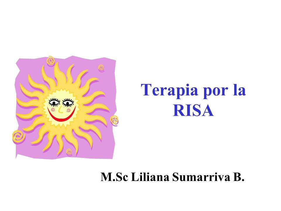 Terapia por la RISA M.Sc Liliana Sumarriva B.