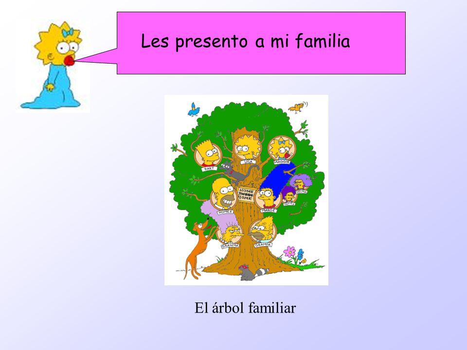 Les presento a mi familia El árbol familiar