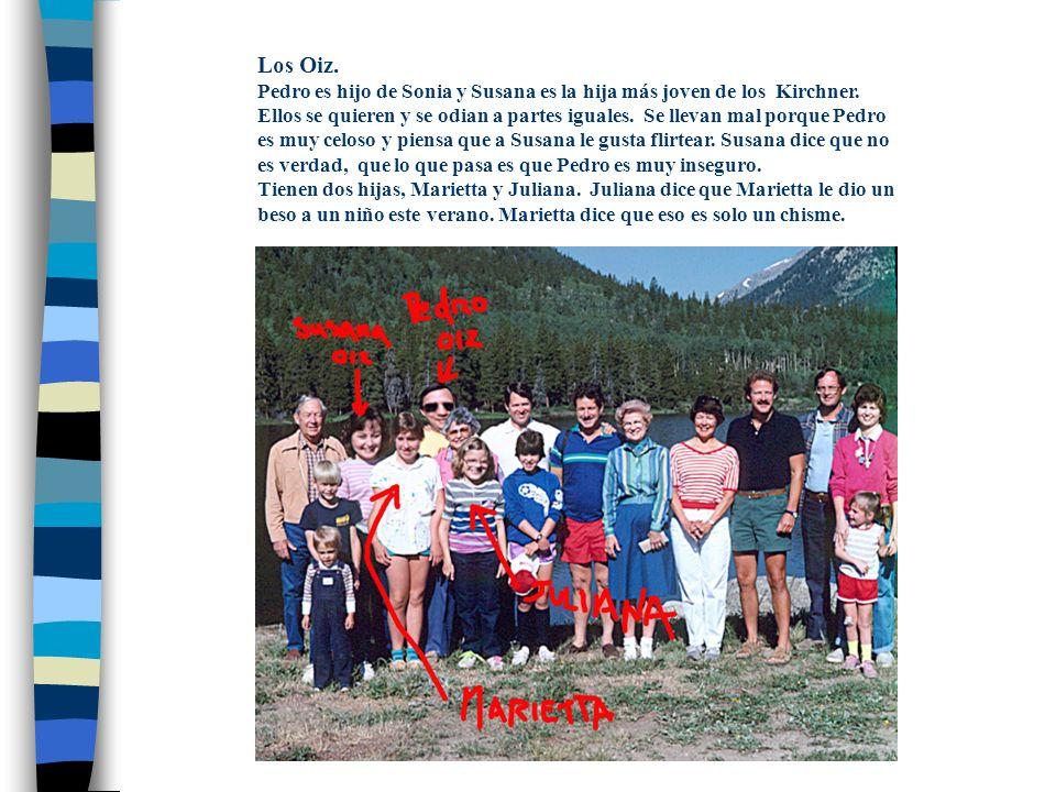 Tarea ¿Quién es este hombre.¿Qué relación tiene con la familia Kirchner.