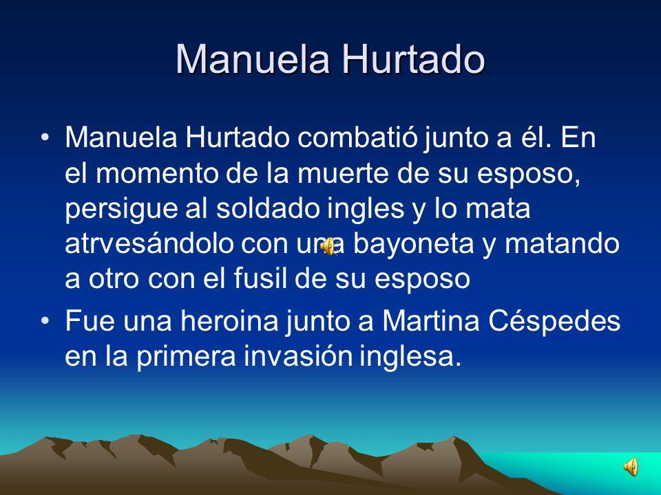 Manuela Hurtado nació en Tucuman, provincia del Rio de la Plata. La fecha exacta de su nacimiento es desconocida. La llamaban La Tucumanesa. No se con