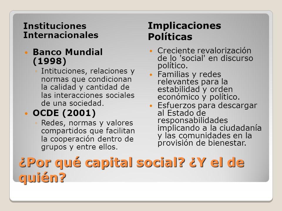 ¿Por qué capital social.¿Y el de quién.