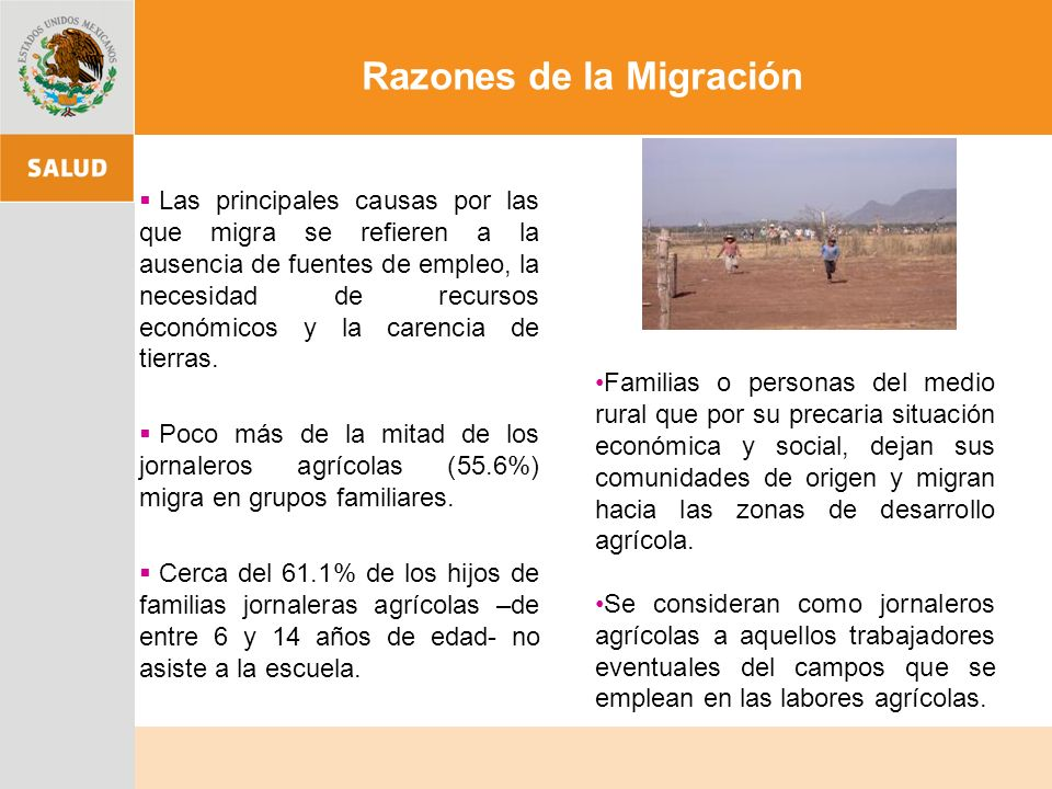 OPORTUNIDADES OPORTUNIDADES Los programas de salud para migrantes deben ser co-responsabilidad binacional Complementarios Continuos Sincrónicos