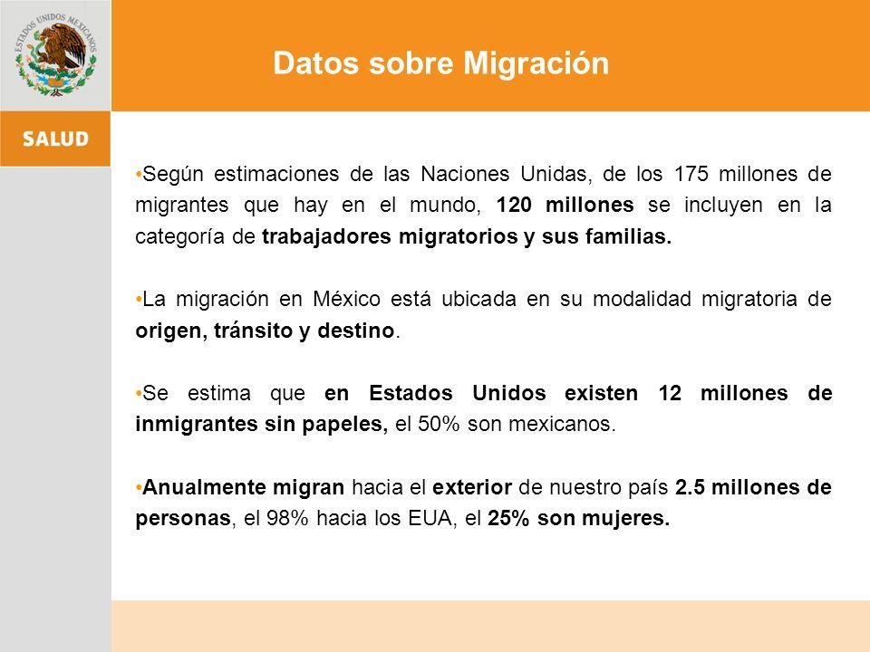 Según estimaciones de las Naciones Unidas, de los 175 millones de migrantes que hay en el mundo, 120 millones se incluyen en la categoría de trabajadores migratorios y sus familias.