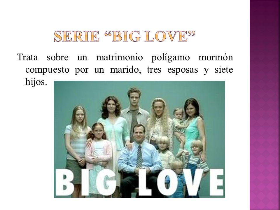 Trata sobre un matrimonio polígamo mormón compuesto por un marido, tres esposas y siete hijos.