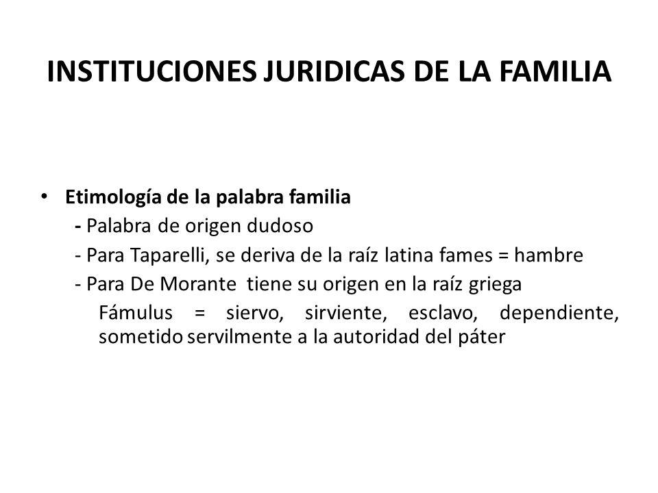 CONCEPTO DE FAMILIA 1.
