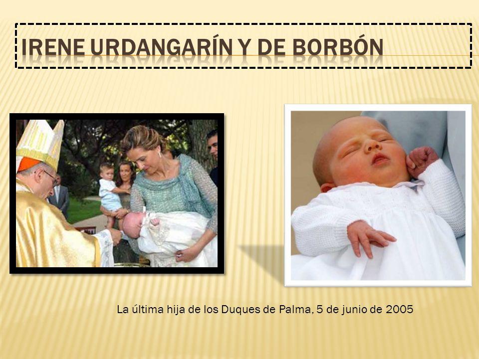La última hija de los Duques de Palma, 5 de junio de 2005