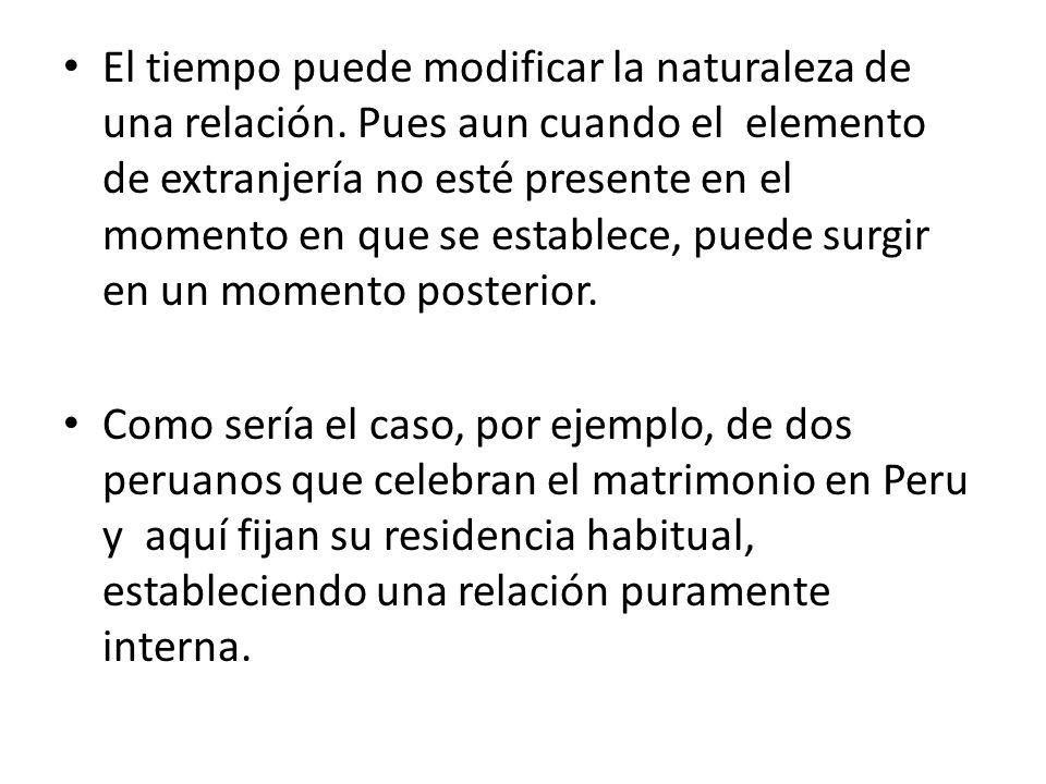 Se establecen las normas de jurisdicción internacional peruana.