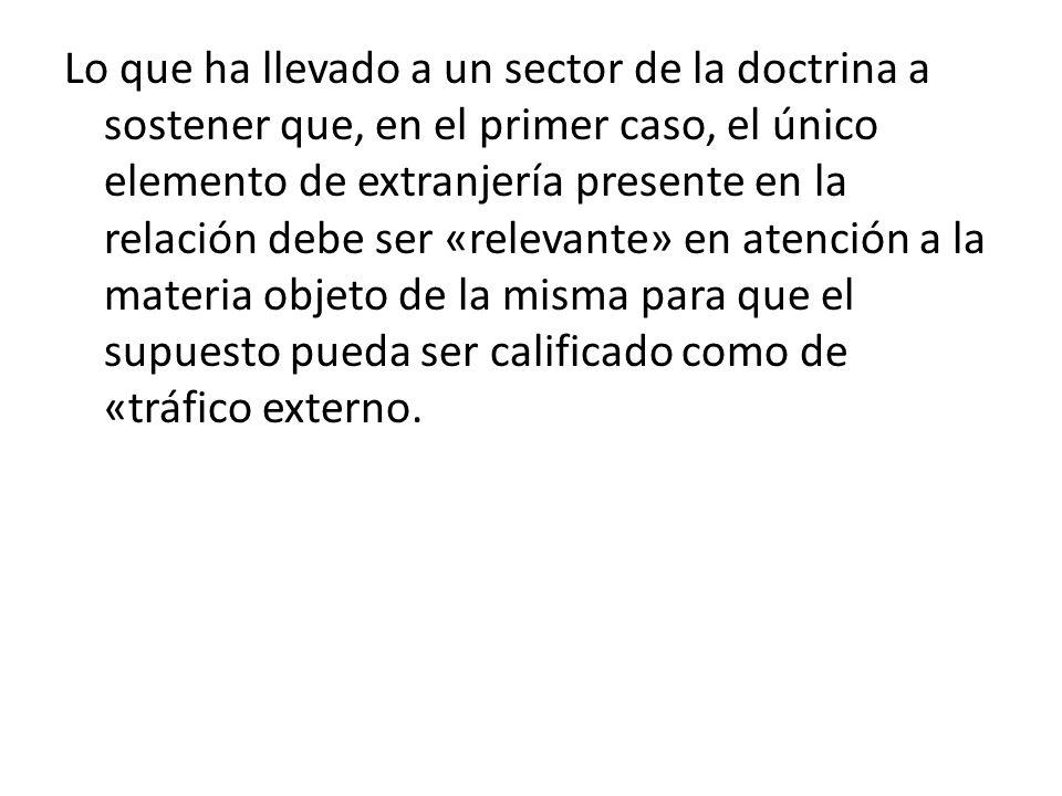 Sin embargo, de establecerse que el tribunal competente es el peruano, sin hacer reserva alguna, ni establecer otro tribunal como alternativo, se considera que la elección del tribunal es exclusiva, y en consecuencia, los órganos jurisdiccionales peruanos no reconocerán como válida una sentencia de un tribunal extranjero.