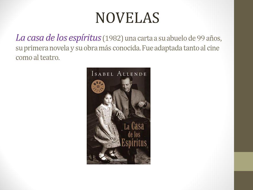 De amor y de sombra (1984): novela que rápidamente se convirtió en otro gran éxito.