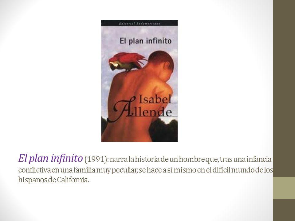 Paula (1994): libro autobiográfico epistolar, dedicado a su hija Paula, donde relata como fue su niñez y juventud hasta llegar a la época del exilio.