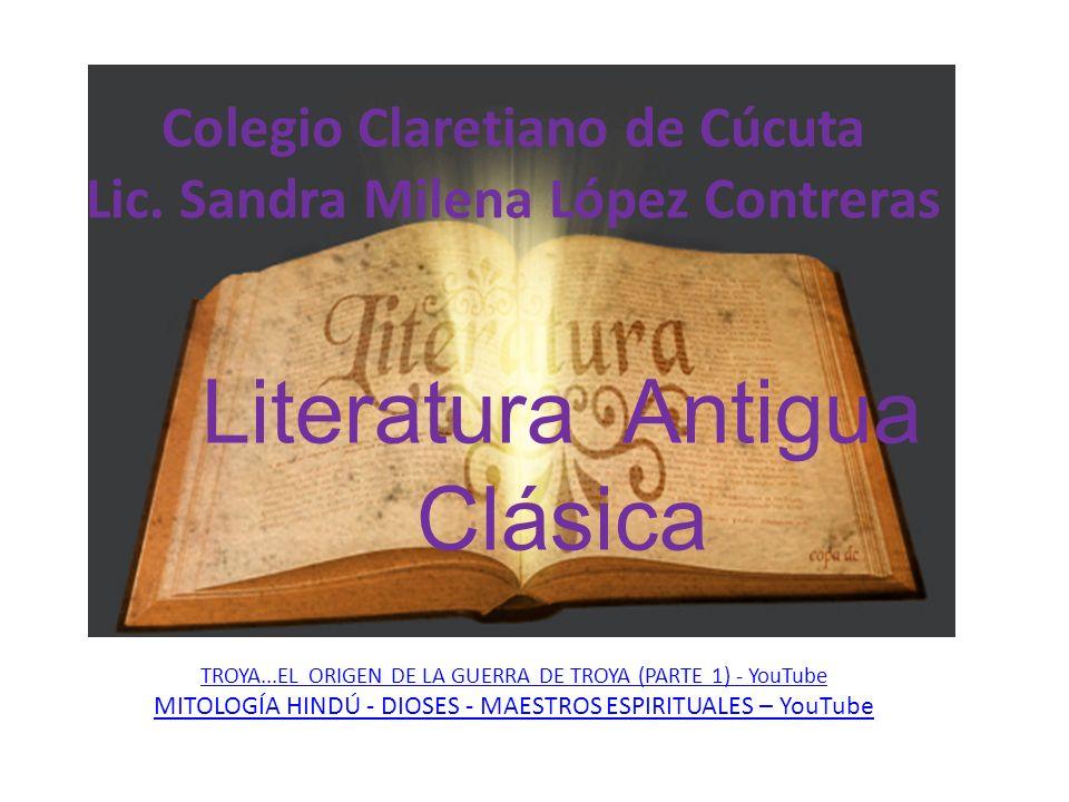 Colegio Claretiano de Cúcuta Lic. Sandra Milena López Contreras TROYA...EL ORIGEN DE LA GUERRA DE TROYA (PARTE 1) - YouTube MITOLOGÍA HINDÚ - DIOSES -