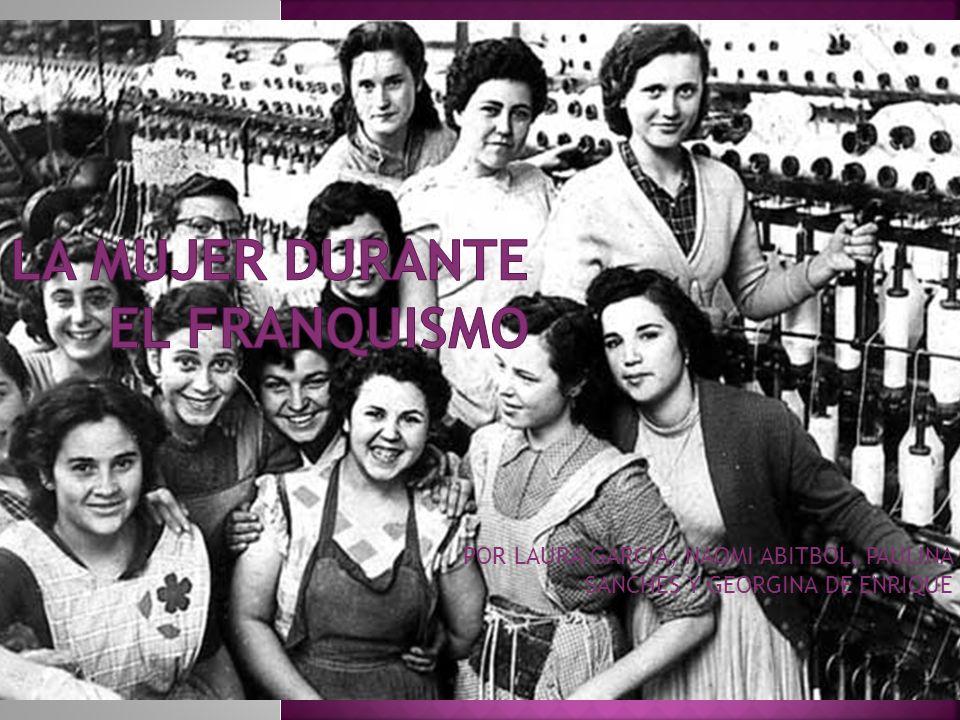 POR LAURA GARCIA, NAOMI ABITBOL, PAULINA SANCHES Y GEORGINA DE ENRIQUE