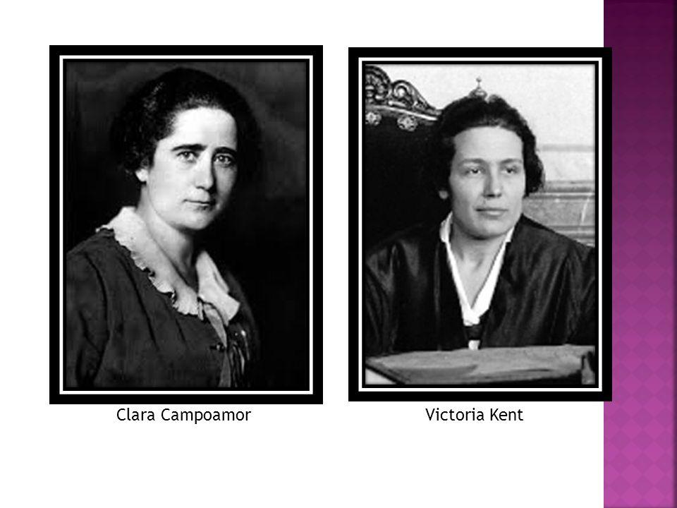 Clara CampoamorVictoria Kent