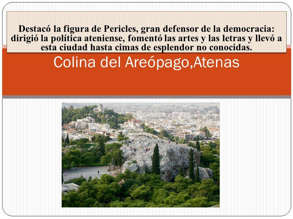 Destacó la figura de Pericles, gran defensor de la democracia: dirigió la política ateniense, fomentó las artes y las letras y llevó a esta ciudad has