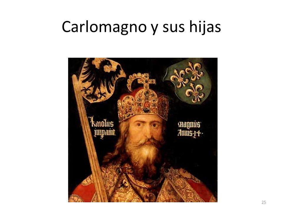 Carlomagno y sus hijas 25