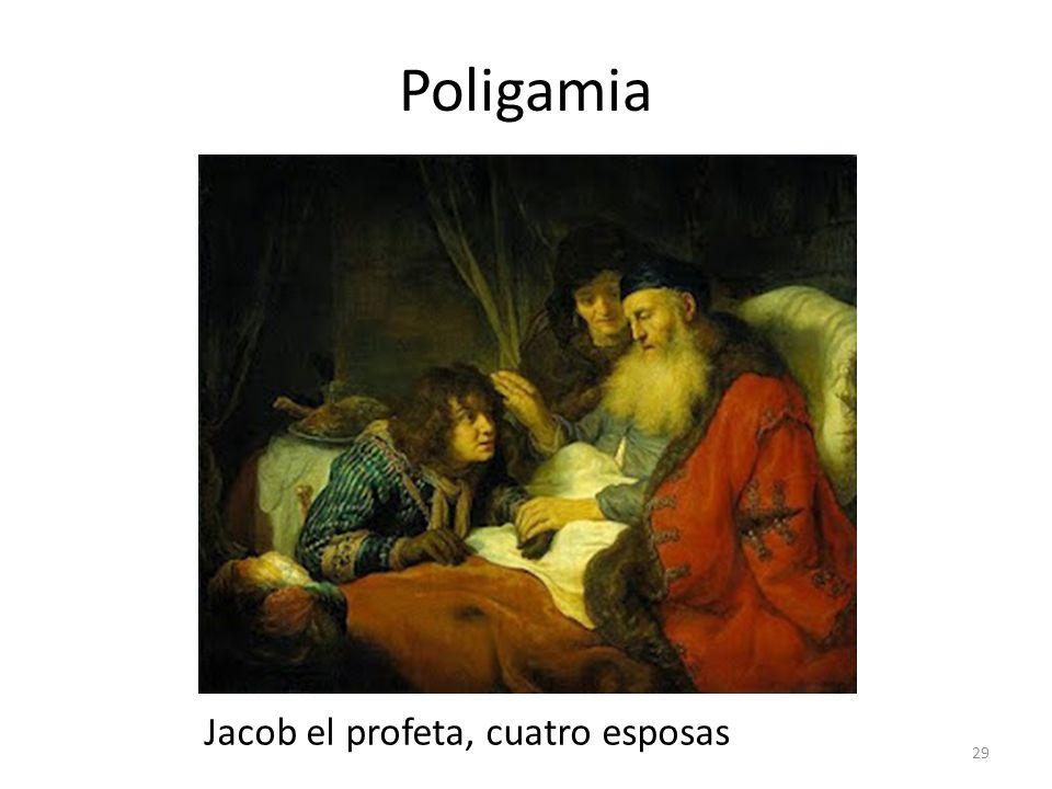 Poligamia Jacob el profeta, cuatro esposas 29