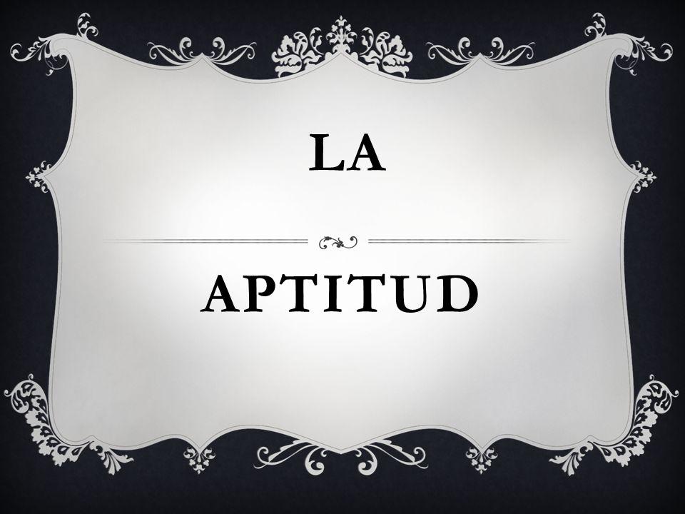 APTITUD LA