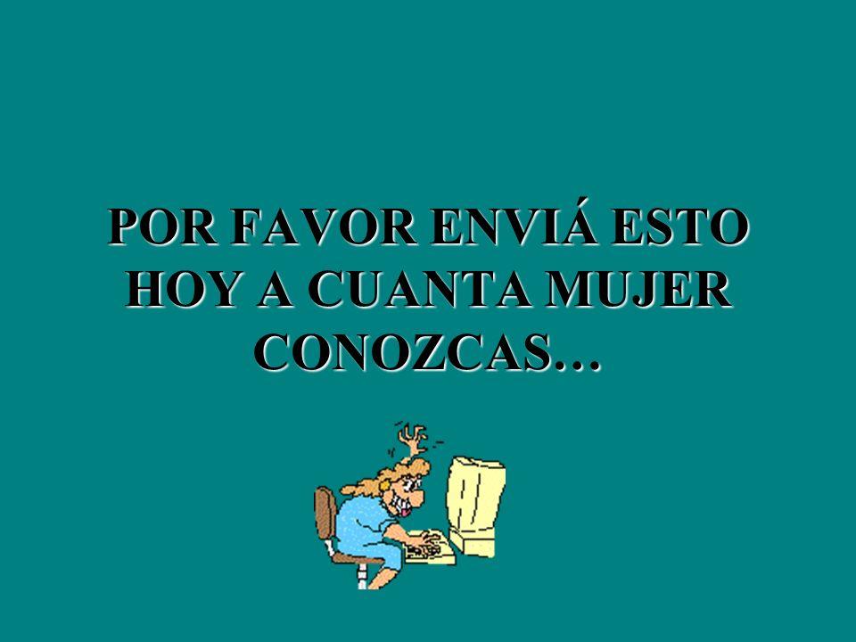REALMENTE SOMOS MARAVILLOSAS !!!!