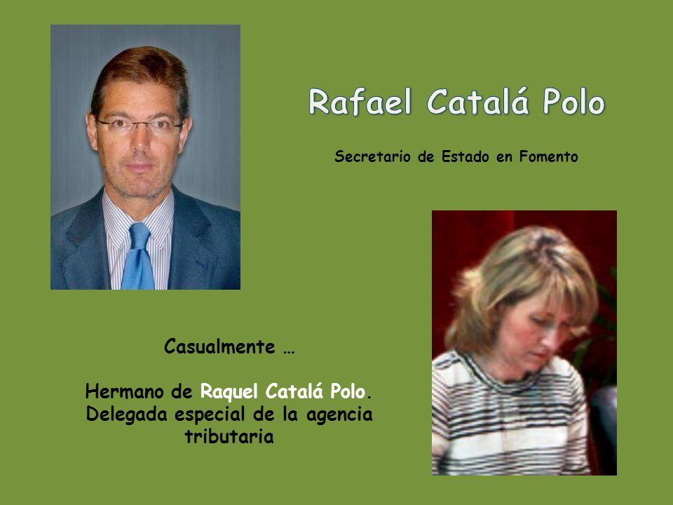 Casualmente… casada con Álvaro Nadal Bélda, cuñada de Alberto Nadal Bélda.
