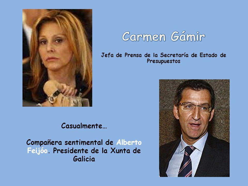 Casualmente… Casada con José Canal Polo. Secretario general técnico del Ministerio de Educación, Cultura y Deporte.