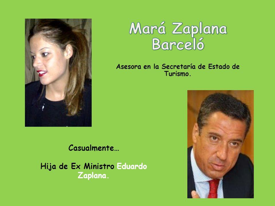 Casualmente… Hijo de Esperanza Aguirre. Presidenta de la Comunidad de Madrid y Condesa de Murillo.