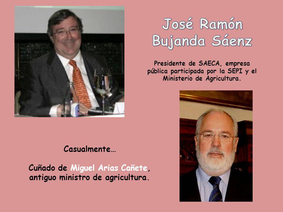 Casualmente… Hijo de Leopoldo Calvo Sotelo, antiguo presidente del gobierno.