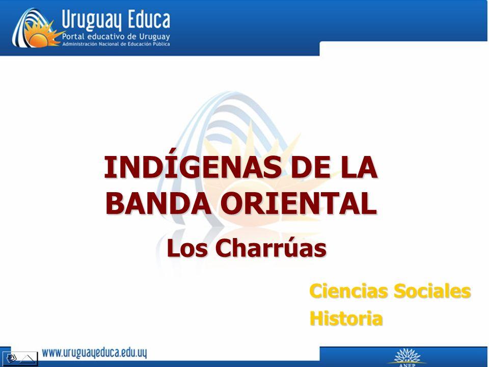 INDÍGENAS DE LA BANDA ORIENTAL Los Charrúas Ciencias Sociales Historia
