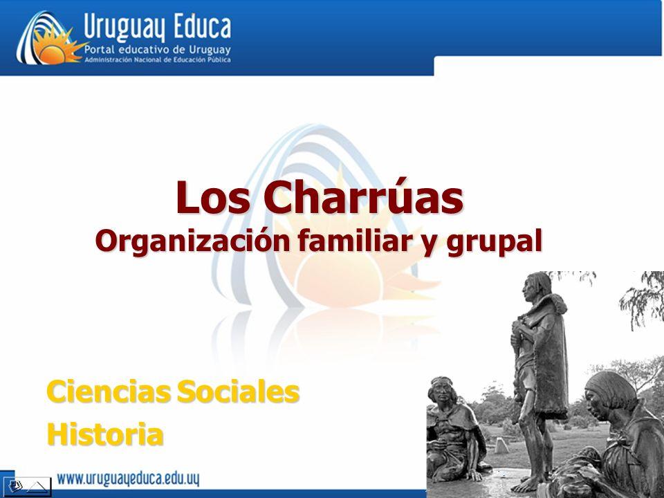 Ciencias Sociales Historia Los Charrúas Organización familiar y grupal