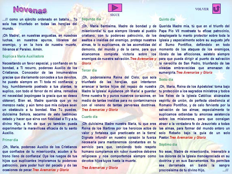 Los devotos de María Auxiliadora, son parte de la familia en la forma instituida por el mismo Don Bosco.