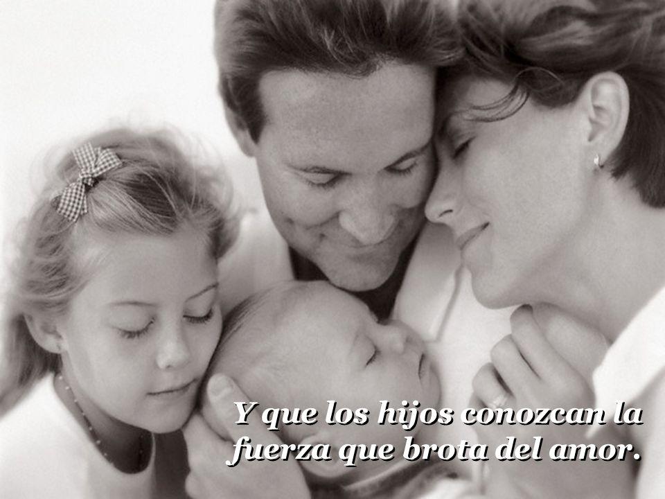 Que la madre sea un cielo de ternura, cariño y calor. Que la madre sea un cielo de ternura, cariño y calor.
