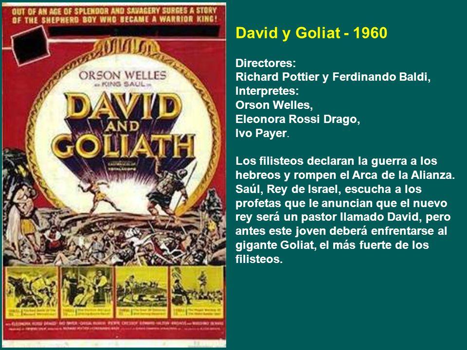 Anibal - 1959 Directores: C.L. Bragalia y Edgar Ulmer Interpretes: Victor Mature, Gabriele Ferzetti, Rita Gam. Aníbal realiza varias conquistas en el