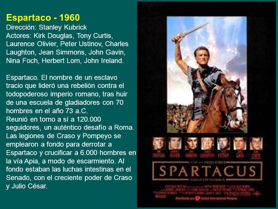 David y Goliat - 1960 Directores: Richard Pottier y Ferdinando Baldi, Interpretes: Orson Welles, Eleonora Rossi Drago, Ivo Payer. Los filisteos declar
