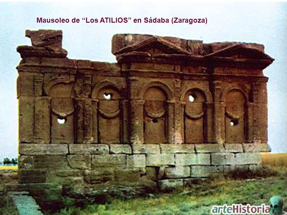 Mausoleo de Los ATILIOS en Sádaba (Zaragoza)