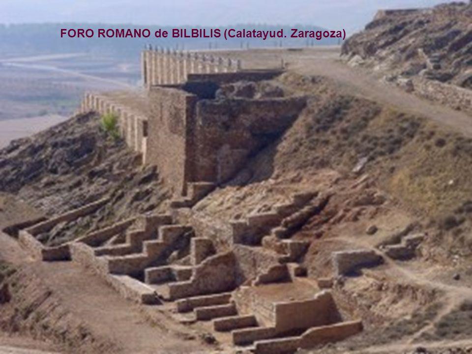 FORO ROMANO de BILBILIS (Calatayud. Zaragoza)