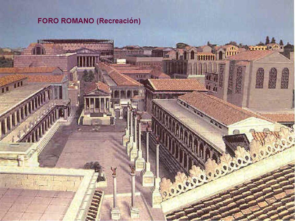 FORO ROMANO (Recreación)