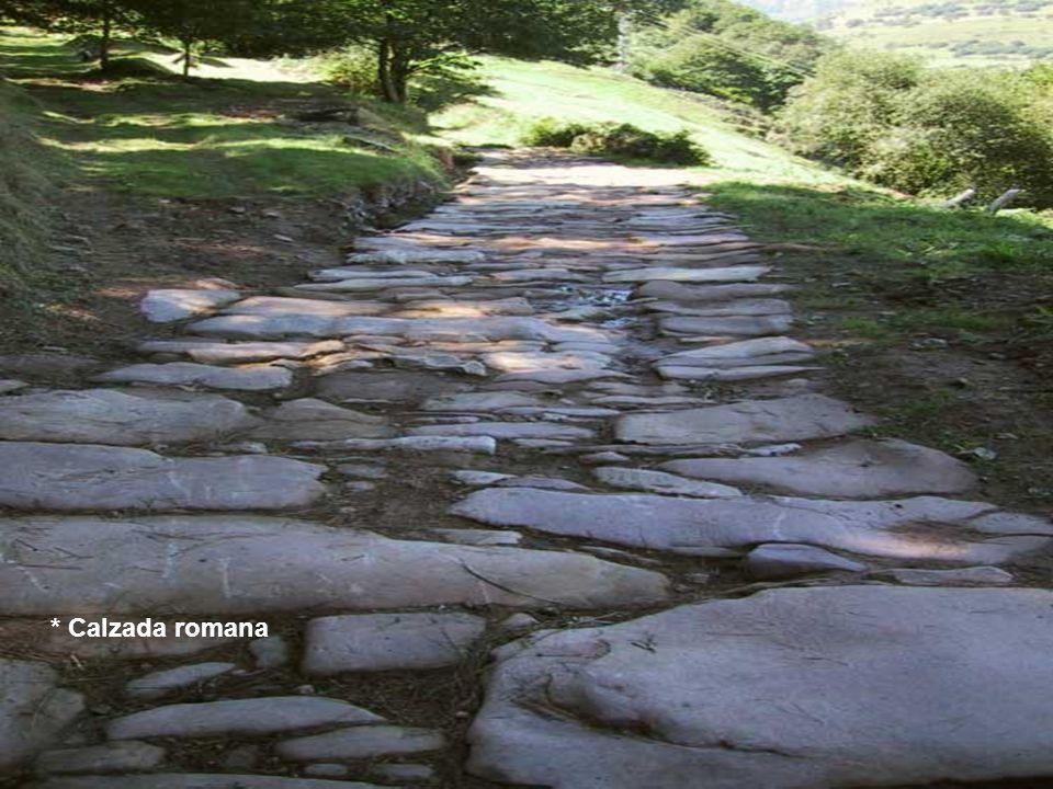 * Calzada romana